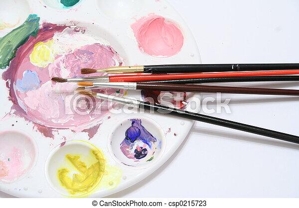 Artist's Pallet - csp0215723