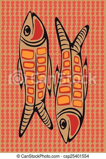 arts., aborigeno - csp25401554