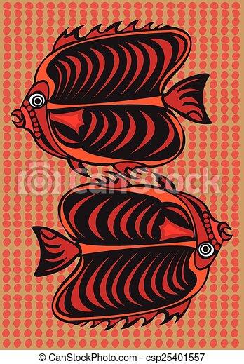 arts., aborigeno - csp25401557