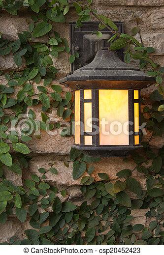Arts and Crafts Lantern - csp20452423