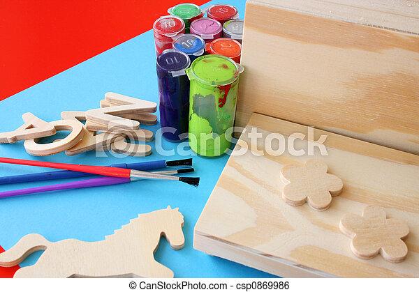 Arts and Crafts - csp0869986