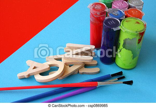 Arts and Crafts - csp0869985