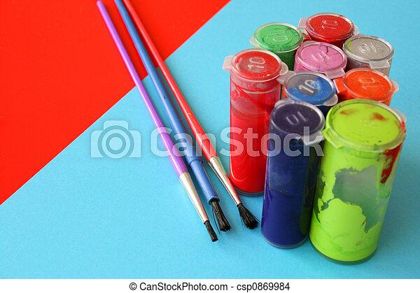 Arts and Crafts - csp0869984