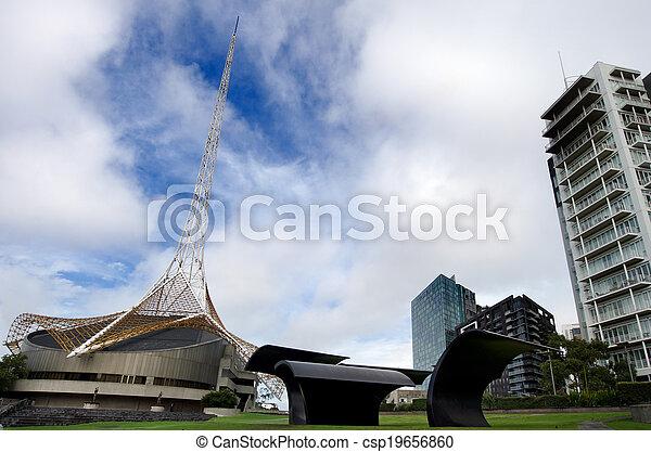 Arts Centre Melbourne  - csp19656860