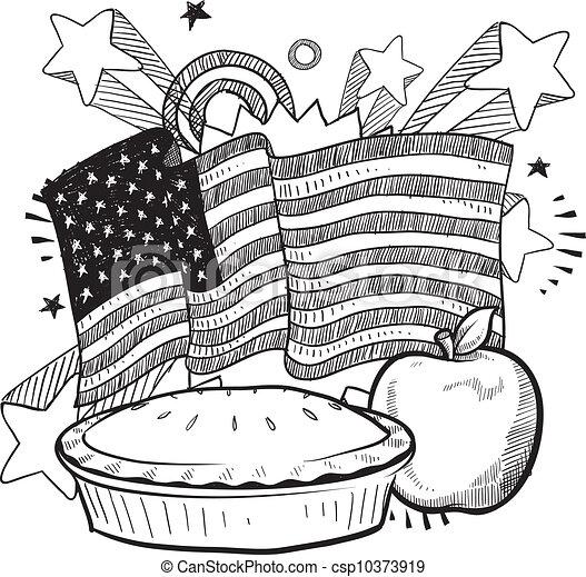 As American as apple pie - csp10373919