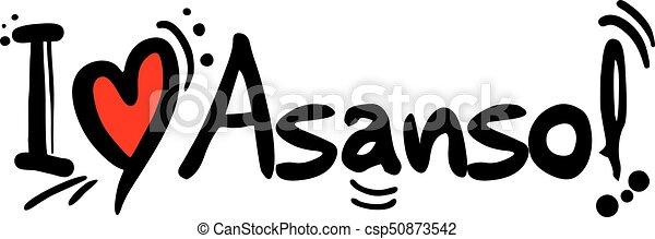 Asansol love message - csp50873542