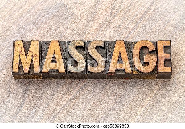 asbtract, type, bois, -word, masage - csp58899853
