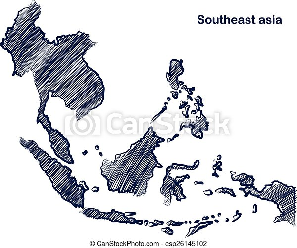 Asean map - csp26145102