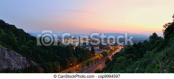 Asheville Skyline - csp9994597
