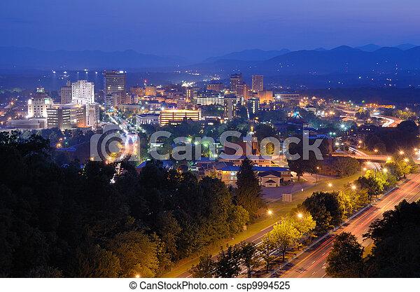 Asheville Skyline - csp9994525