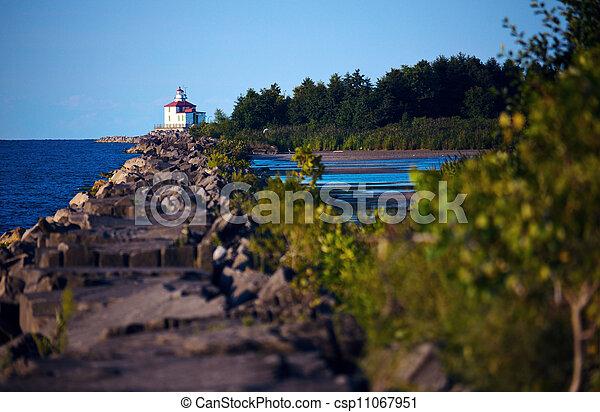 Ashtabula Lighthouse - csp11067951