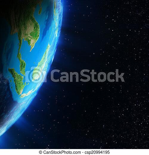 asia, espacio - csp20994195