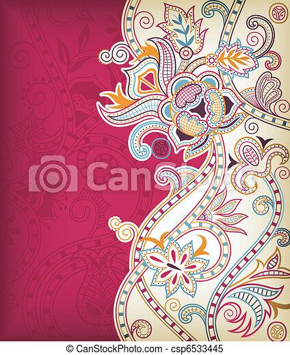 Asia Floral - csp6533445