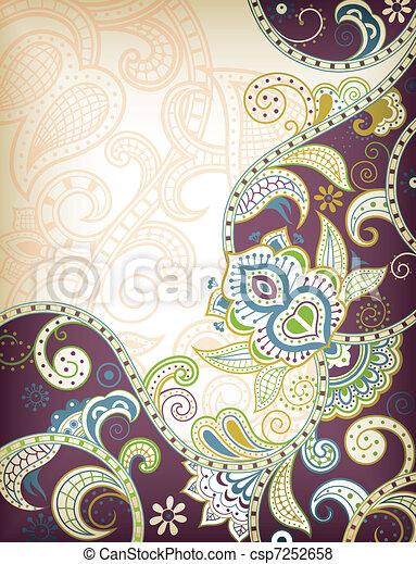 Asia Floral - csp7252658