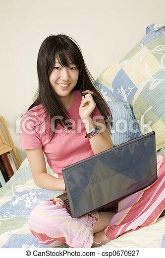 Asian American - csp0670927