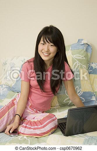 Asian American - csp0670962