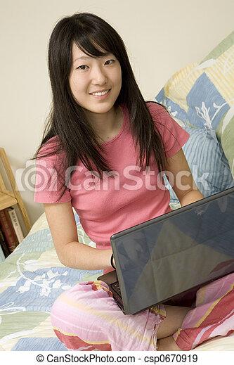 Asian American - csp0670919