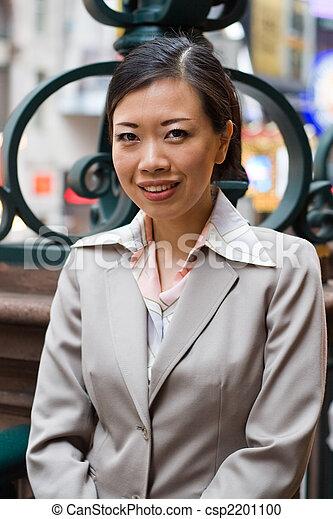 Asian Business Woman - csp2201100