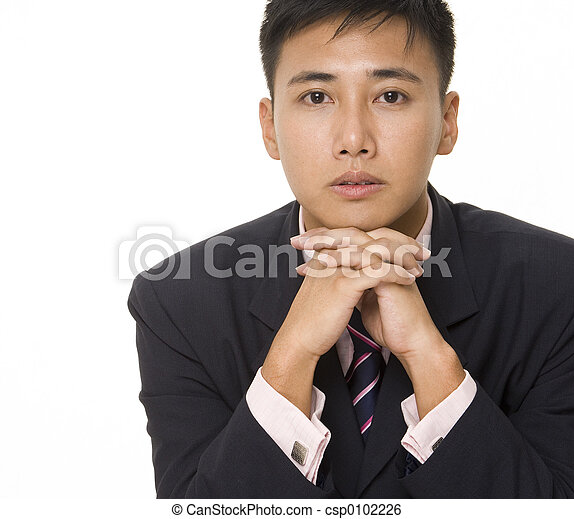 Asian Businessman 3 - csp0102226