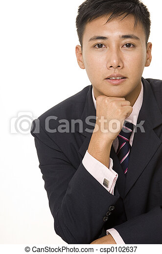 Asian Businessman 5 - csp0102637