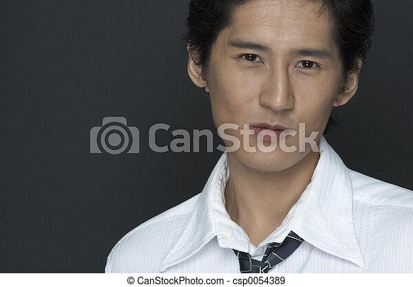 Asian Businessman - csp0054389