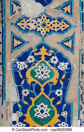 Asian moasaics patterns