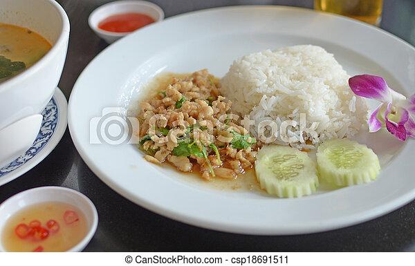asian food - csp18691511