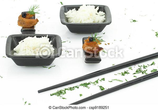 Asian food - csp9189251