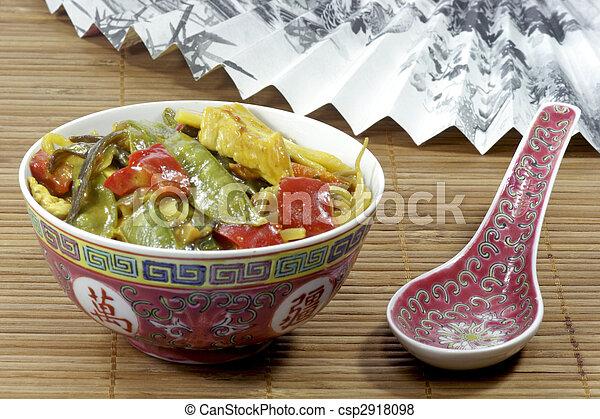 Asian food - csp2918098