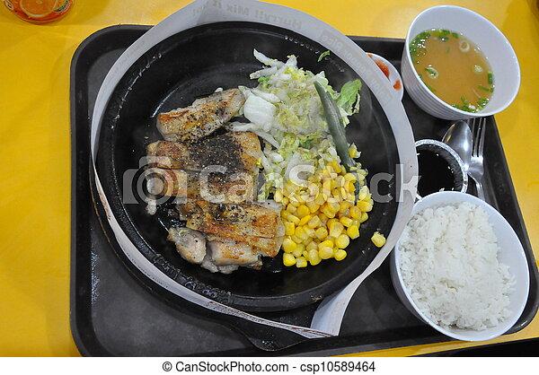 Asian Food - csp10589464