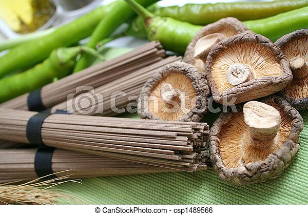 Asian food - csp1489566