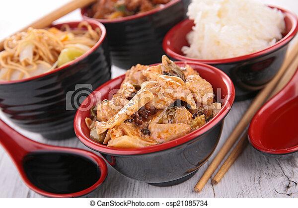 asian food - csp21085734