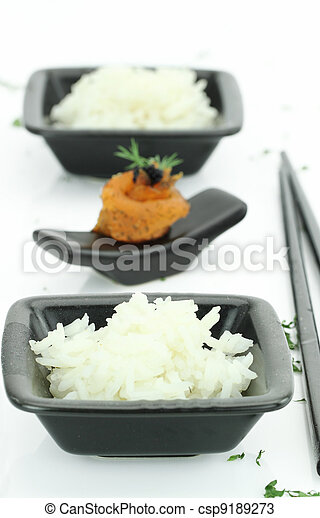 Asian food - csp9189273