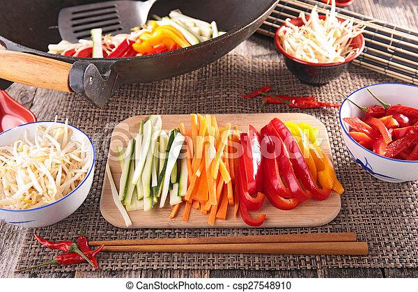 asian food,wok - csp27548910
