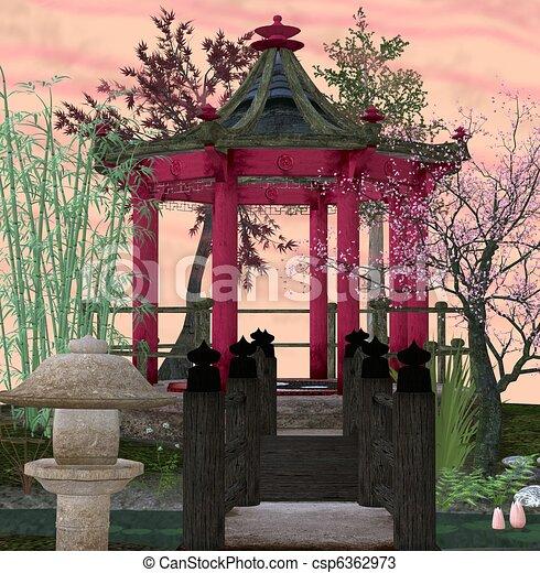 Asian Garden   Csp6362973