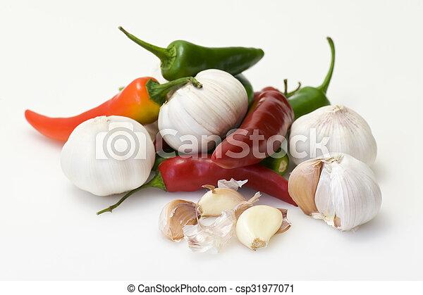 Asian ingredients - csp31977071