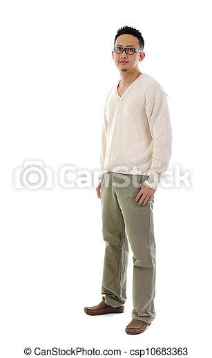 Asian man - csp10683363