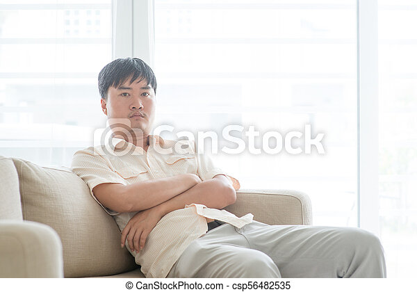 Asian mature couch