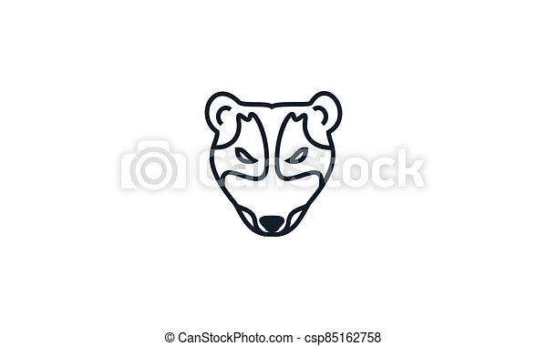 Asian palm civet head face - csp85162758