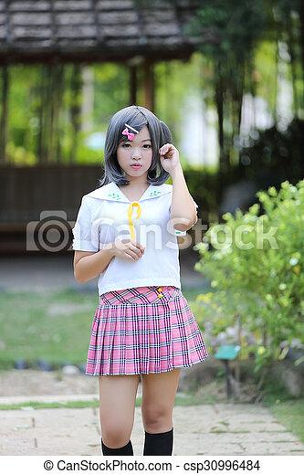 Asian School Girl Csp