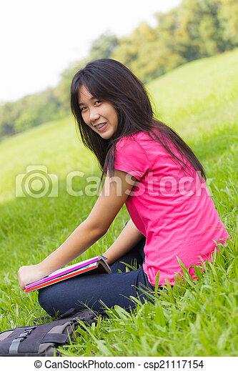 Asian Schoolgirl Csp21117154