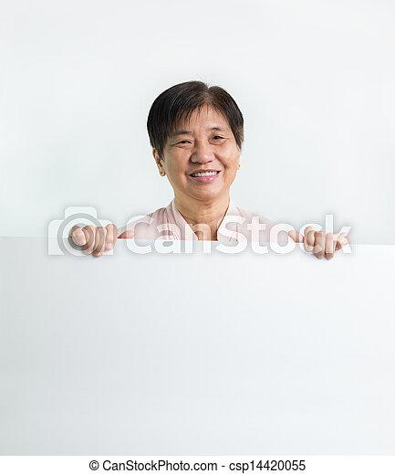 Asian senior citizen - csp14420055