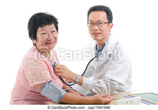 asian girl medical exam
