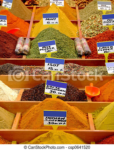 Asian spices - csp0641520