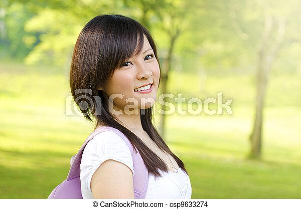 Asian student - csp9633274