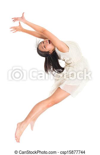Asian Teen Dancer