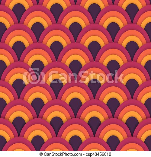 Asian vector seamless abstract pattern - csp43456012