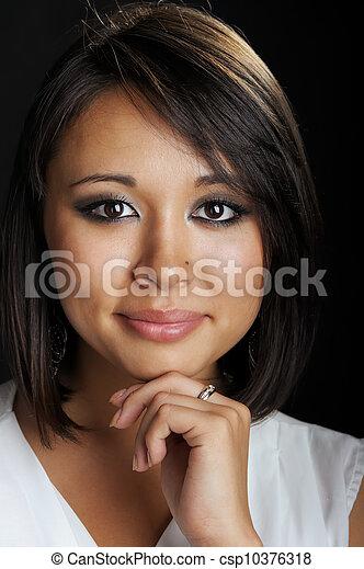 Asian woman - csp10376318