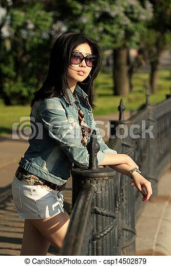 Asian woman - csp14502879