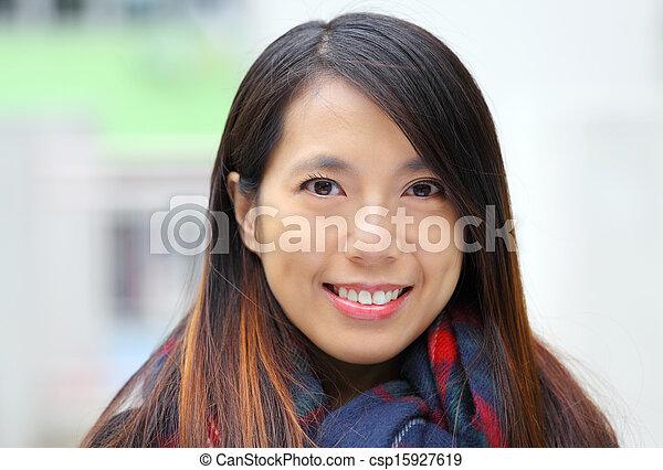 Asian woman - csp15927619